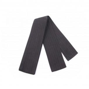 Kaku Obi nera | Cintura Iaido nera