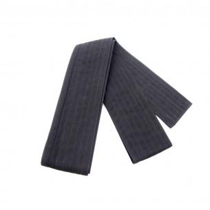 Kaku Obi nera Extra | Cintura Iaido nera
